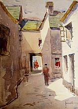 James Brindle - four views of St Ives & Padstow, Cornwall, various scenes, watercolours, all signed, 29cm x 39cm and smaller (4)