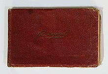 THE DAMBUSTERS, 617 SQUADRON, important and probably unique small format autograph album presented to James Brown Junior, son of James Brown MB ChB, Senior medical officer for 617 Squadron, stationed at Scampton and Swinderby, on his 9th birthday,