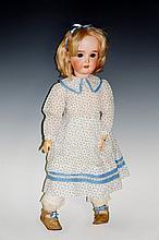 A Kley & Hahn German doll, ''Dollar Princess'', mold 50 bisque head, flip b