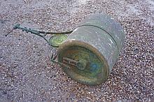 A garden roller, 56 cm diameter