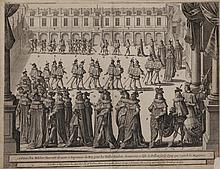Book - Boîte renfermant 45 gravures et eaux-fortes XVII° et XVIII° s. Jean le Cler