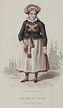 Book - Costumes suédois dessinés par MM. Camino et Régamey d'après les dessins ori