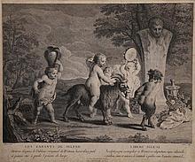 Book - 25 gravures d'interprétation du XVIII° siècle de format in-folio.