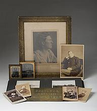 GROUP OF ENGLISH PHOTOGRAPHIC MEMORABILIA.