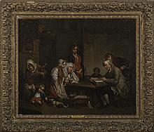 LA LECTURE DE LA BIBLE, AFTER JEAN-BAPTISTE GREUZE.