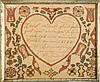 PAIR OF PENNSYLVANIA FRAKTURS FOR PHILIP AND CHRISTINA ENSENINGER, 1773-1774.