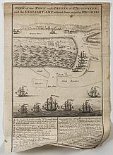SIX EARLY ENGRAVED MAPS, PLANS AND VIEWS OF ST. AUGUSTINE INCLUDING