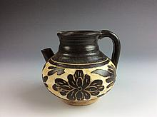 Chinese Porcelain Handled Pot
