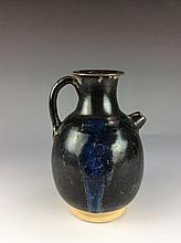 Chinese black glaze water pot