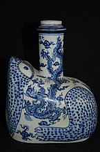 Rare Chinese export Porcelain kandi, frog shape