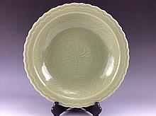 Fine Yuan-style Longquan Chinese plate