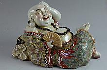 Rare Chinese porcelain Wu Cai Buddha