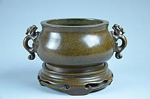 Fine Chinese copper censer