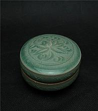 Chinese Song Yao kilm style porcelain box