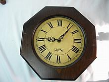 ANTIQUE AMERICAN CLOCK WUERSCH FALL RIVER MASS