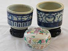 CHINESE ANTIUE PORCELAIN LOT 18-19TH C.