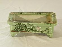 ASIAN ANTIQUE CELADON FLOWER PLANTER