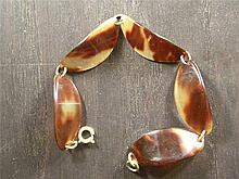 ANTIQUE CHINESE TORTOISE SHELL BRACELET