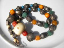 Antique Necklace with various Stone