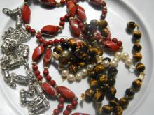 Group of Necklaces with Different Stones