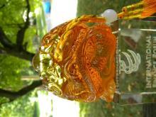 Chinese Glass Dragon Crystal Chop
