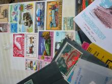 Lot of Various Old Stamps and Documents