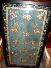 Antique Chinese Embroidery Framed