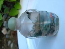 Antique Chinese Inner Painting Snuff Bottle