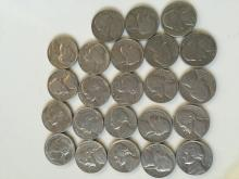 Qty 23 Nickels