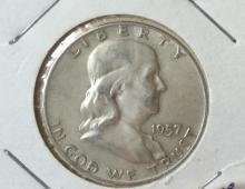 Year 1957 Silver Half Dollar
