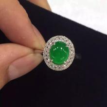 Spring Jewelry Auction Gold Diamond and Jadeite