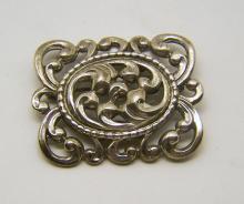 sterling silver DANECRAFT brooch pin
