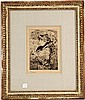 Lithograph, Woman with Parasol, Edouard Manet (French, 1832 - 1883), N3HNI