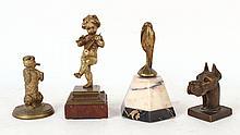 Four Bronze Figures