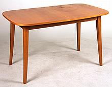 Contemporary Maple Expandable Dining Table