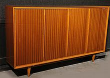 Modern Maple Wall Cabinet, 20th C.