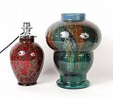 Murano Art Glass Table Lamp Base
