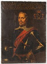 Oil on Canvas Portrait, Aime de Balay
