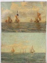 Two Oil on Canvas Maritime Scenes