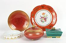 Group of Porcelain Table Items