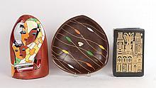 Three Modern Ceramic Table Items