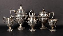 Ellmore Sterling Silver Tea & Coffee Service