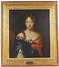 Oil on Canvas, Portrait of a Lady