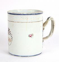 Chinese Export Porcelain Armorial Mug
