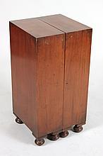 Regency Style Diminutive Folding Cabinet