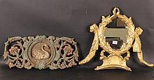 Giltwood Mirror Pediment