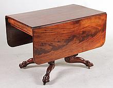 Classical Mahogany Drop Leaf Table