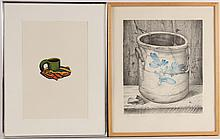 Mezzotint, Frog Cup, Kenneth Price
