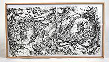 Screen Print, Abstract, Jane Teller