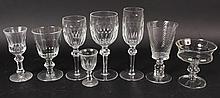 Twenty-Seven Waterford Wine Glasses